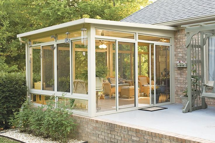 Natural wicker and rattan furniture is the ideal choice for three season sunrooms.