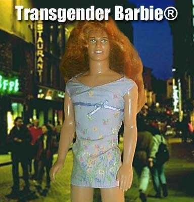 Transgender people have, in most cases become either oversexualized or ridiculed. Showing people obviously male in looks in extremely feminine clothing.