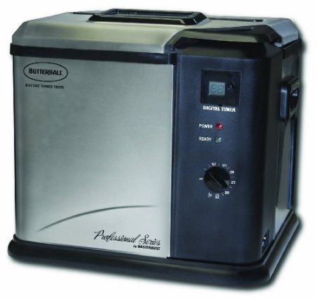 Masterbuilt 20010109 Butterball Professional Series Indoor Electric Turkey Fryer ~ hmmm, maybe fry our turkey next Thanksgiving?