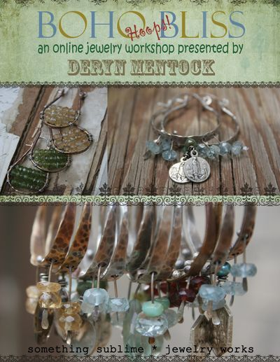 Boho bliss flyer adventures in creating mixed media jewelry