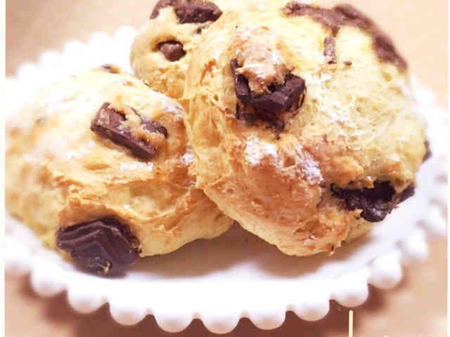 簡単♡HMでチョコ*豆腐パン(cookpad)