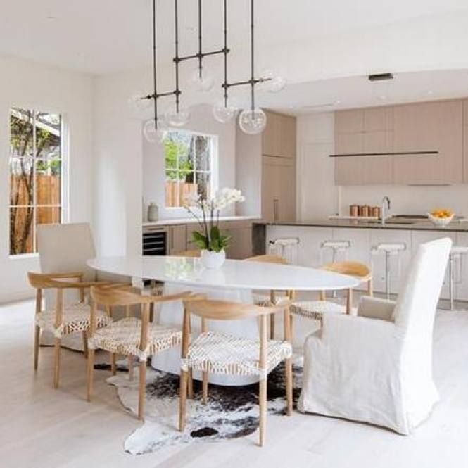 51 Modern Minimalist Dining Room Decor Ideas In 2020 Minimalist