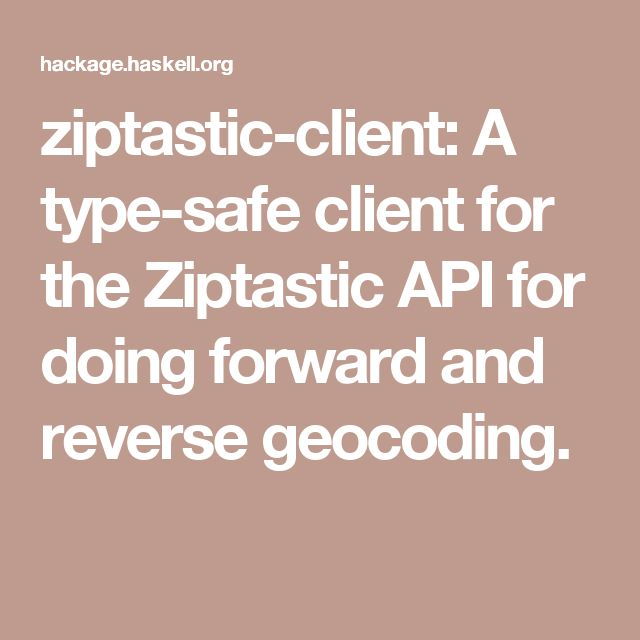 119 best haskell images on pinterest bowling challenge and coding ziptastic client a type safe client for the ziptastic api for doing forward country zip code fandeluxe Images