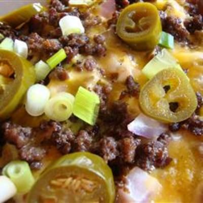 Over the Top NachosRecipe Food, Yummy Food, Eating, Mexicans Recipe, Food Cooking, Tops Nachos, Appetizers, Favorite, Popular Pin