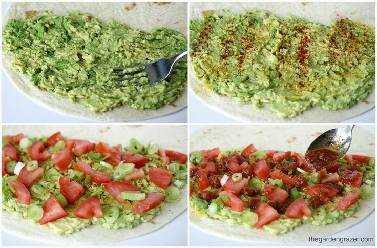 The Garden Grazer: Avocado Quesadillas (vegan)