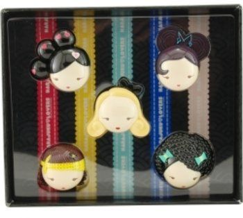 """Harajuku Lovers Variety Set-5 Piece Mini Variety With Baby & Lil' Angel & """"G"""" & Love & Music And All Are Parfum Solid Minis By Gwen Stefani SKU-PAS961065 by WMU. $49.01. Please refer to the title for the exact description of the item. 100% SATISFACTION GUARANTEED. Allof theproductsshowcased throughoutare100%OriginalBrand Names.. Harajuku Lovers Variety By Gwen Stefani Set-5 Piece Mini Variety With Baby & Lil' Angel & """"G"""" & Love & Music And All Are Parf..."""
