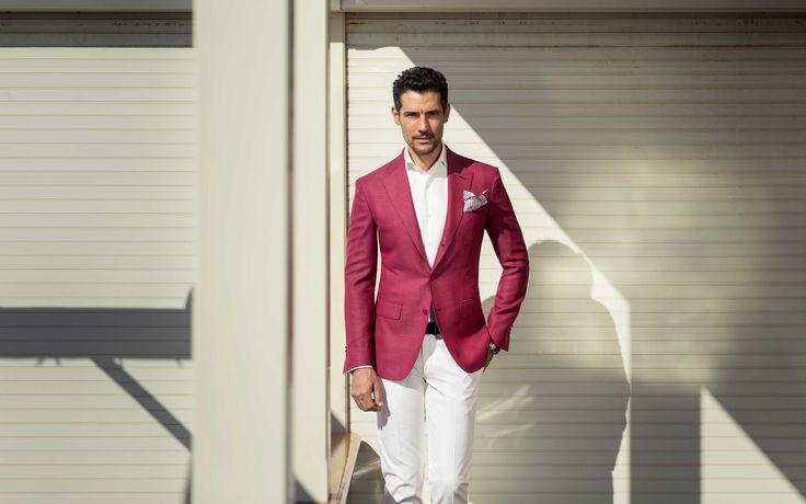 Giacca Armaturato Fragola, per un'estate piena di colore  #sartoriarossi #menswear #style