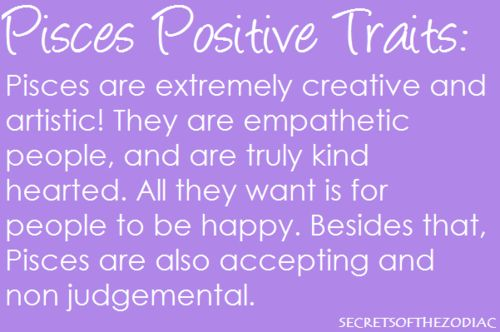 Pisces woman traits physical