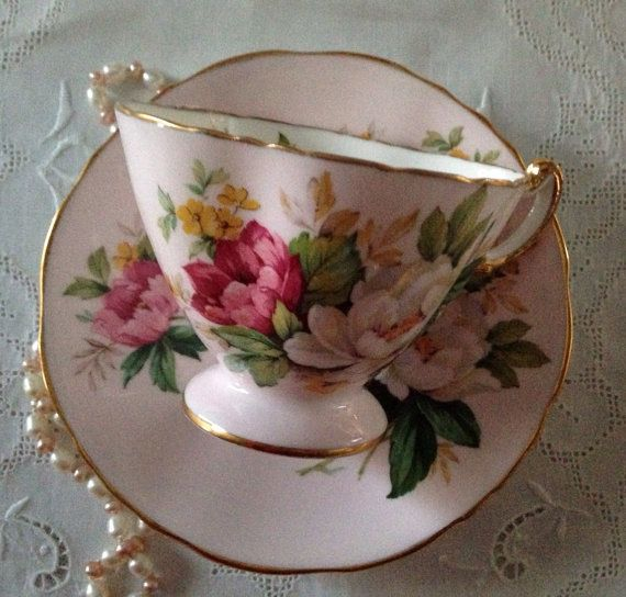 Beautiful Vintage Hammersley Tea cup and Saucer on Etsy, Sold