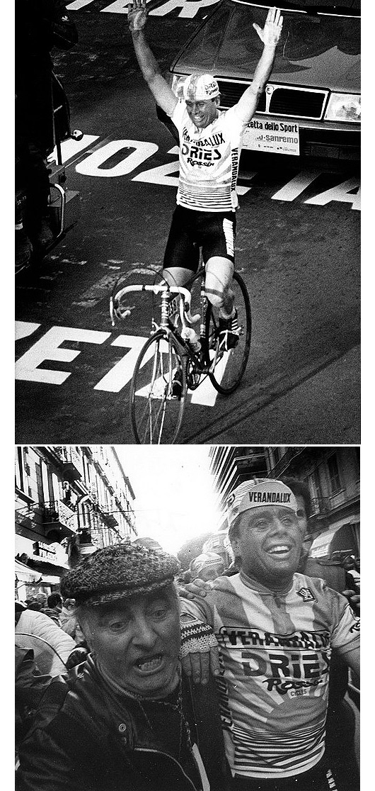 Hennie Kuiper, 1985. Milan San Remo Fiets, Fietsen, Sport