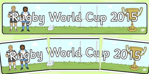 Rugby World Cup 2015 Display Banner