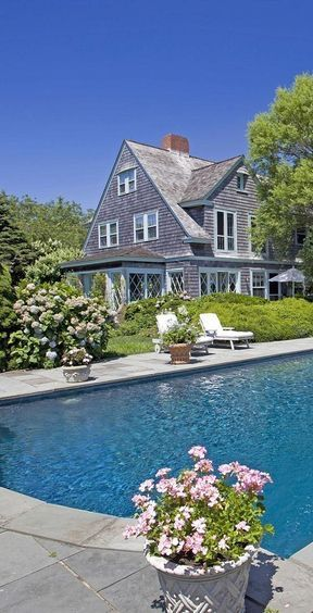 62 best images about poolside on pinterest pool for Dream home nantucket oak