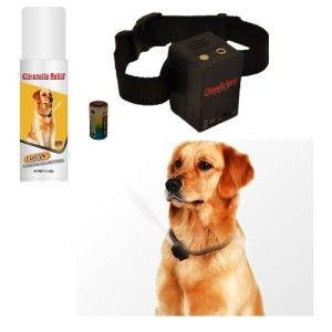 NO BARK Collar Citronella Spray Anti-Bark collar for Dogs Kit - Safe, Effective, and Humane Dog Barking Control collar  #dogcollar #barkcollars