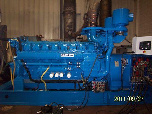 PERKINS MARELLI 1500 KVA Used Diesel Generator Set