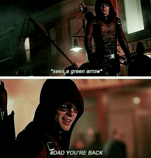I really liked this scene #Roy #Arrow