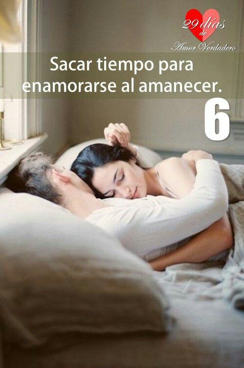 6. Sacar tiempo para enamorarse al amanecer.