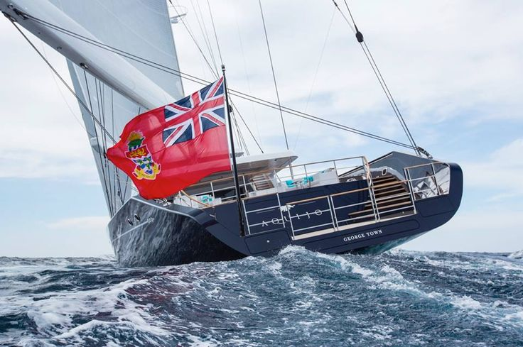 Recently we completed a project for the Vitters Shipyard and Oceanco built #superyacht S/Y Aquijo... here she is at sea. This spectacular 85m Fast Cruising Ketch, is the world's largest high-performance ketch and marks Vitters Shipyard's and Oceanco's first cooperative effort. Our team specialise in design and fabrication of high quality #marinecomponents for the world's superyacht fleet, and are experts in marine & aerospace materials such as Titanium,17-ph4, Nitronic 50  and Duplex 220.