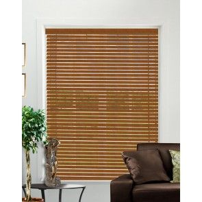 Stains Golden Oak Wood Venetian Blind