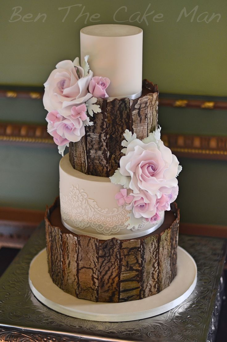 Best Rustic Cake Ideas On Pinterest Rustic Wedding Cakes