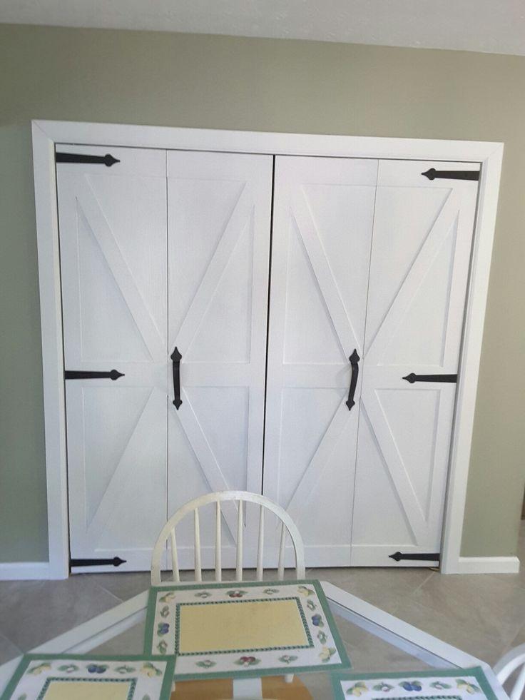 Elegant Bifold Barn Doors For Pantry. Pictures