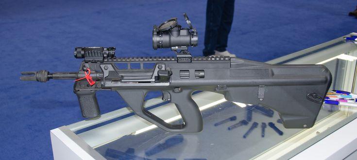 An Aussie AUG? Lithgow Arms USA's ATRAX Bullpup 5.56mm—SHOT Show 2017 - GunsAmerica Digest