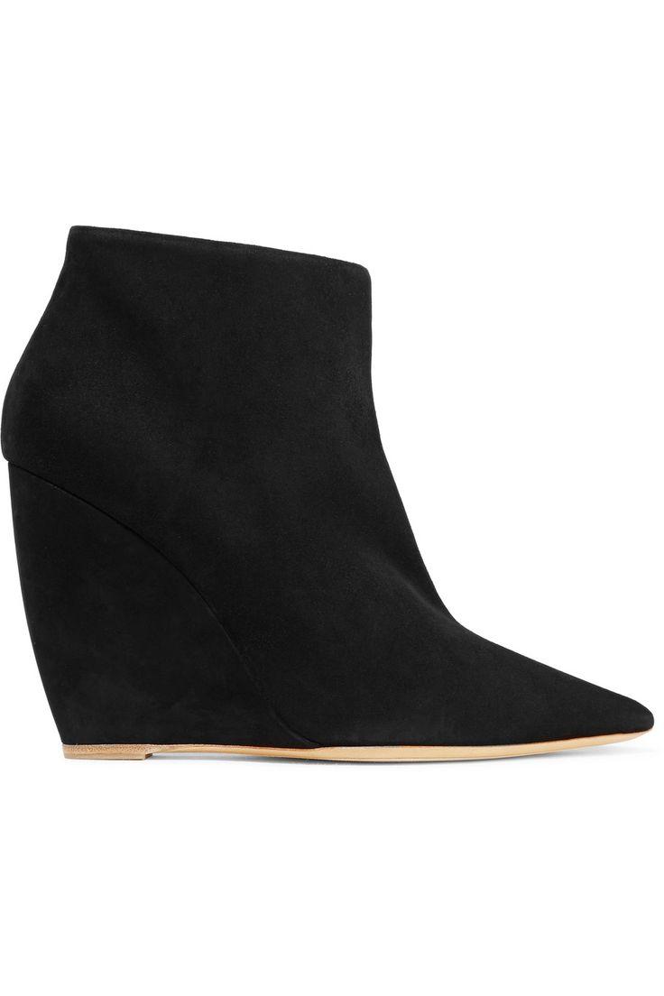 NICHOLAS KIRKWOOD Lizy Suede Ankle Boots. #nicholaskirkwood #shoes #boots