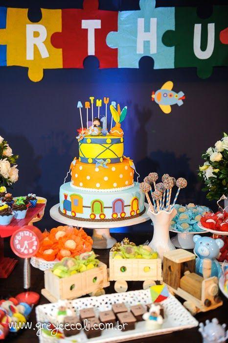 Encontrando Ideias: Festa Brinquedos Antigos!!