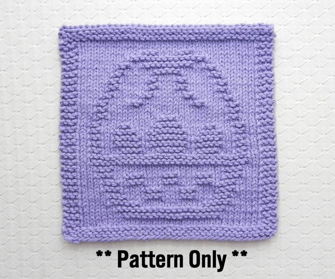 Knitting A Dishcloth Pattern Easy : 50 best images about Knit Dishcloth Patterns on Pinterest ...