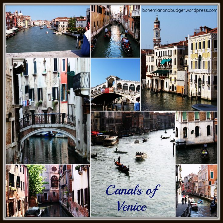 #Weekend #Postcard: #Canals of #Venice, #Italy