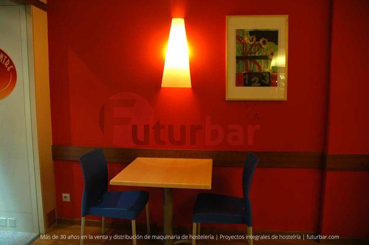 Café del Centre en Barcelona. Proyectyo integral de hostelería. futurbar.com