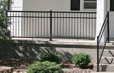 Aluminum railings, deck railing, porch railings, stair railings ...                                                                                                                                                      More