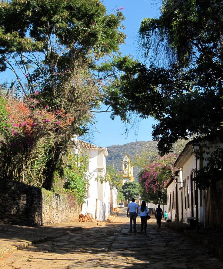 Domingo de sol em Tiradentes, Minas Gerais