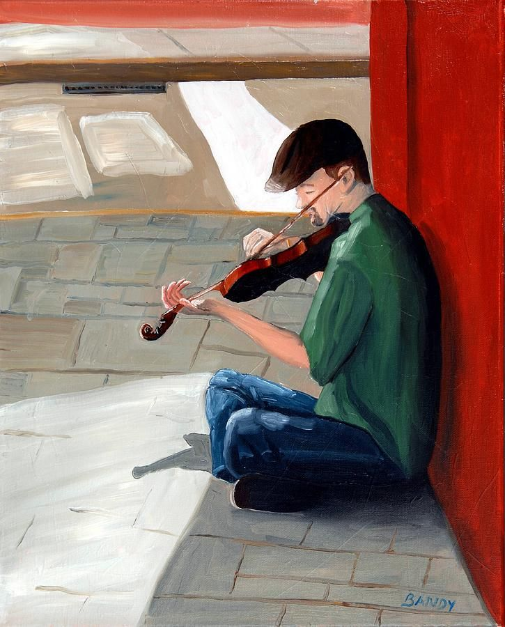 Original oil painting by Todd Bandy of a street musician in Charleston South Carolina.  Prints are available at toddbandyfineart.com and fineartamerica.com