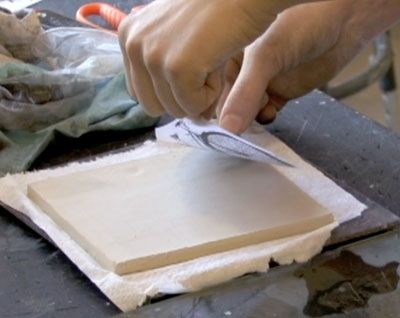 How to transfer images to pottery before firing in the kiln! Looking for a tutorial on this technique and found it here!