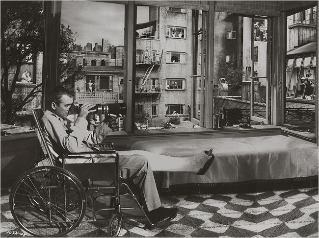 Voyeurism in Rear Window