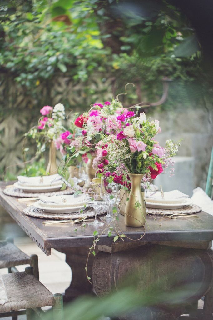 A Secret Garden Inspirational Dinner Shoot in Florida
