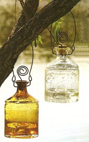 I am ordering these vintage fly catchers bottles from Farmhouse Wares for my backyard.  I love them!!