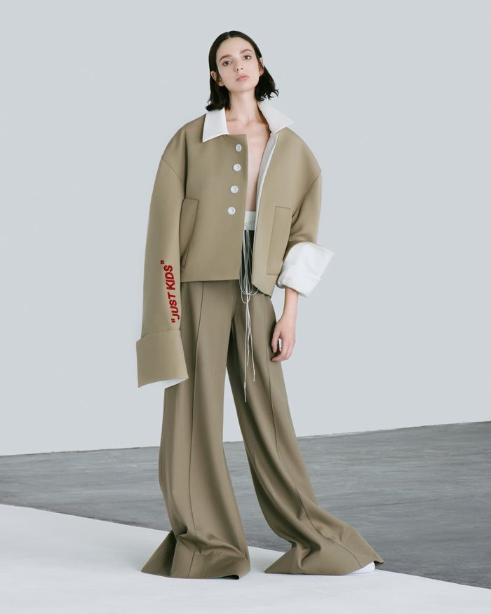 Exaggerated and long line silhouettes from the supersonic Andrea Jiapei Li . Saved by Gabby Fincham.