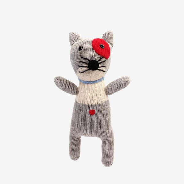 Adorable!KnitCat is handcrafted in a sweet minimalist style - bitteshop.com