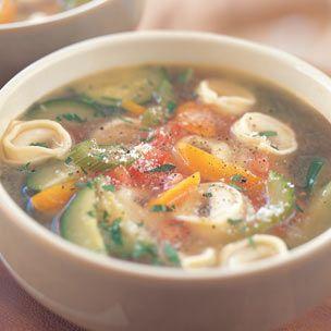 Tortellini soup..