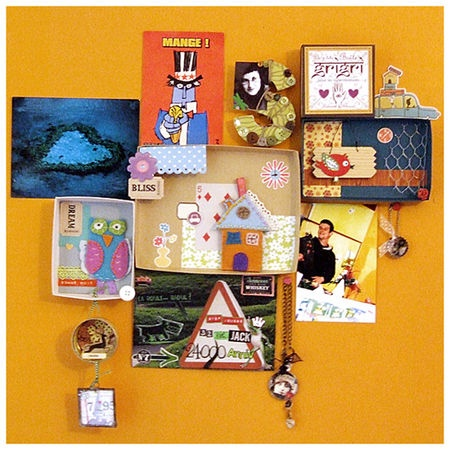 Creative ways to reuse old items to create memory boxes :)
