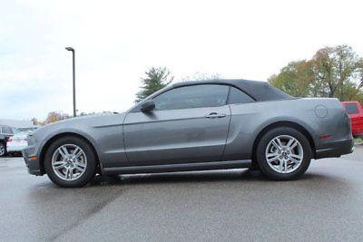 eBay: 2014 Ford Mustang 2dr Convertible V6 2dr Convertible V6 Manual Gasoline 3.7L V6 Cyl Sterling Gray Metallic #fordmustang #ford