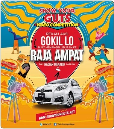 Ikuti TOYOTA YARIS - SHOW YOUR GUTS! VIDEO COMPETITIONs