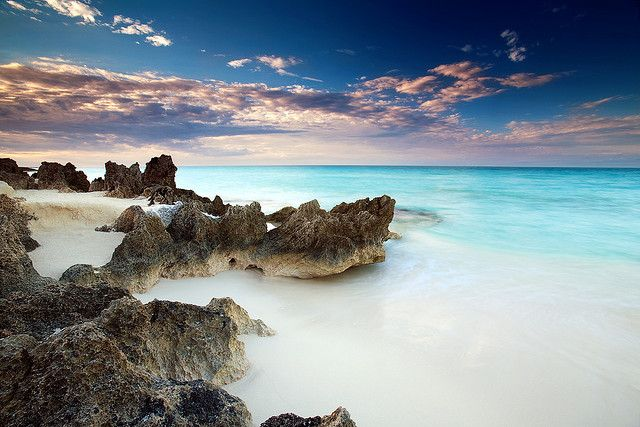 White Sand Beaches in Cayo Santa Maria, Cuba  by Dan D.