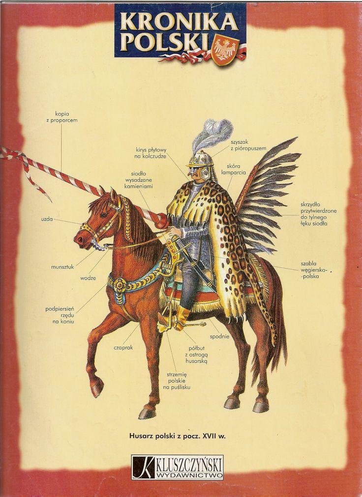 Husarz z początku XVIIw