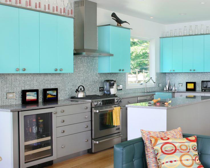 sherwin williams contemporary kitchen - photo #45