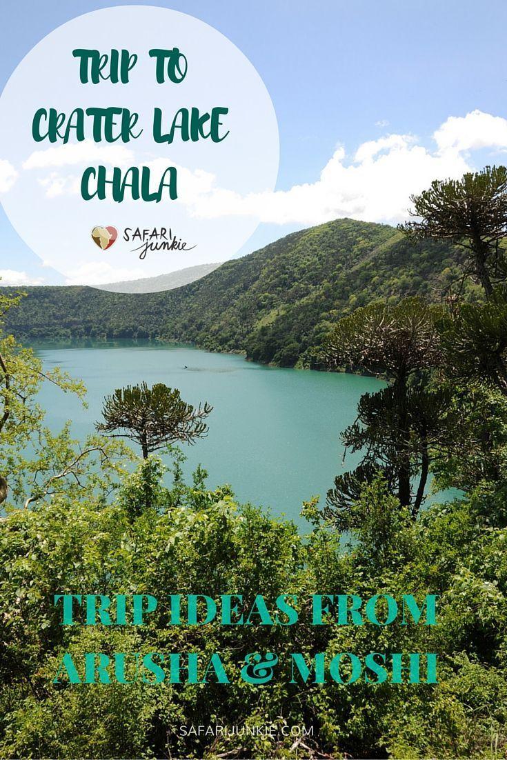 trip to Crater Lake Chala Tanzania