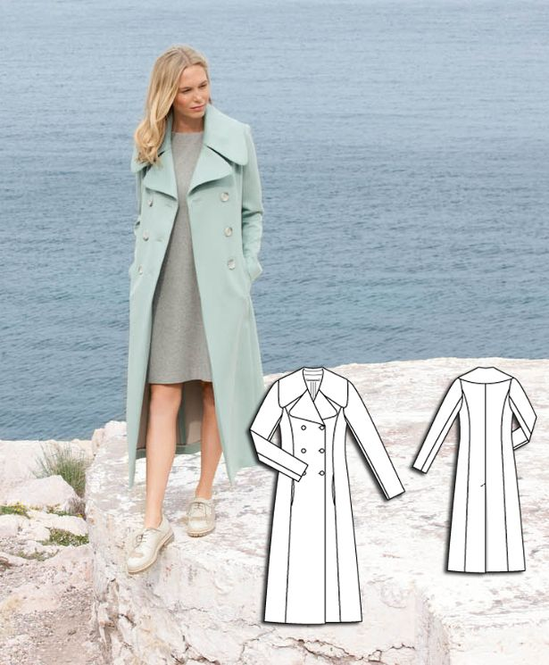 Mint Trench Coat #105 http://www.burdastyle.com/pattern_store/patterns/mint-trench-coat-092015?utm_source=burdastyle.com&utm_medium=referral&utm_campaign=bs-meh-bl-150817-ClassicSeasideCollection105