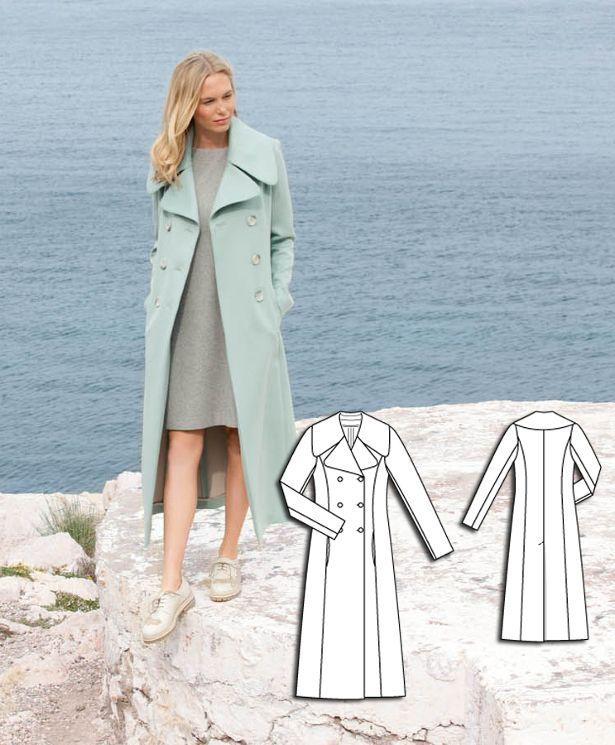 Mint Trench Coat #105 http://www.burdastyle.com/pattern_store/patterns/mint-trench-coat-092015?utm_source=burdastyle.com&utm_medium=referral&utm_campaign=bs-meh-bl-150817-ClassicSeasideCollection105