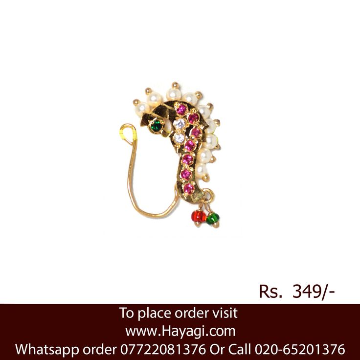19 best Buy Nose Ring, Nath, Nathni, Kolhapuri Nath, Rajasthani ...